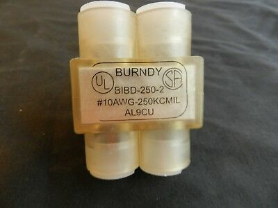 Burndy Bibd-250-2 2 Wire Splice Connector 10 Thru 250 Mechanical