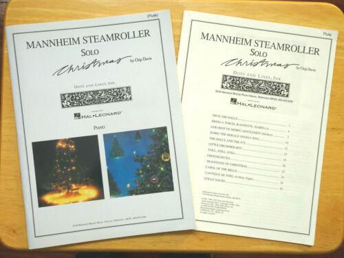 Mannheim Steamroller Solo Christmas Carols Flute Piano, Chip Davis 1993