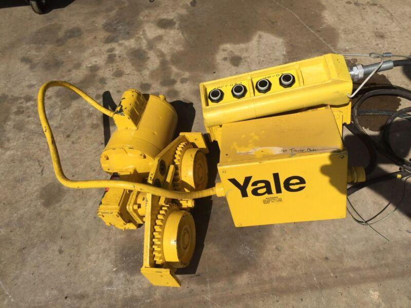 Yale Motorized Hoist Trolley Gantry