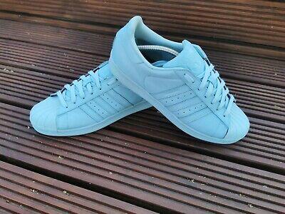 Adidas Pharrell Superstar, Light Blue, Size 10