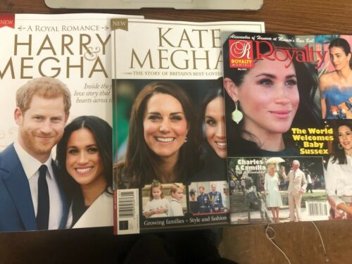 3 Magazines On Royal Family