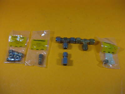 Assorted Vacuum Crawford Tee X2 Swagelok Reducer X1 Others 1 Set Used