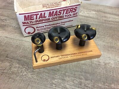 New Roto Tech Metal Master Fly Cutters 25 50 Mm W 20 Mm Shank