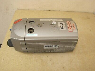Becker Dt 4.16 Pump Oil-less Rotary Vane Compressor Free Shipping