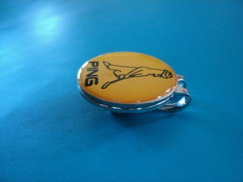 New Ping Ball Marker w/Hat Clip Golf Pingman