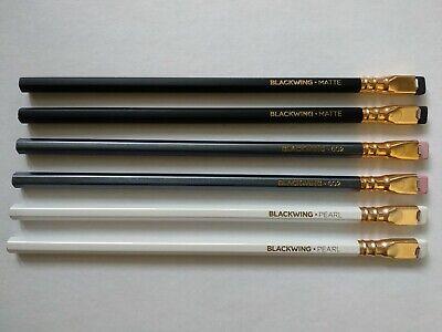 PALOMINO BLACKWING 6Pencils SET(Original, 602, Pearl 2each)