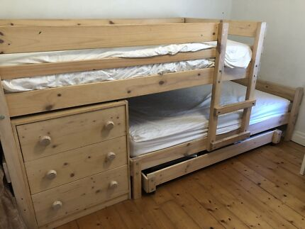 King Single Bunkers Bunk Bed
