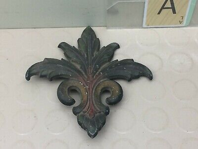 Vintage Ornamental Architectural Metal Piece K5253