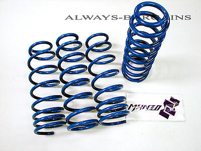 Manzo Lowering Coil Springs Fits Toyota Corolla E110 98-02 -