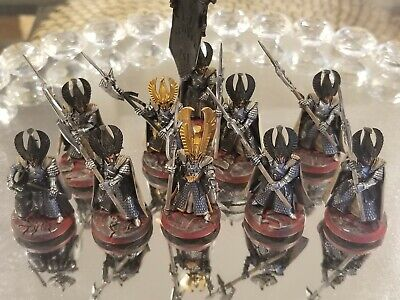 Warhammer AOS High Elves Army Phoenix Guard Partially painted x10