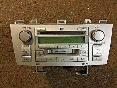 2006 TOYOTA SOLARA JBL SAT RADIO 6 DISC CD PLAYER TAPE OEM Toyota Sat-radio