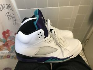 Air Jordan Grapes 5 sz 11