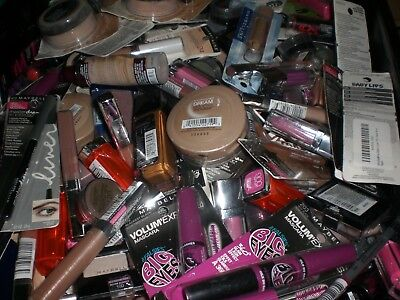 Maybelline brand makeup cosmetics mixed assorted wholesale resale Lot of 25 Pcs - Wholesale Makeup