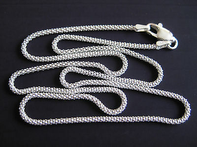 Diamantierte Silberkette 925'er  40 - 70cm  Stärke Ø 2mm     / SK13 ()