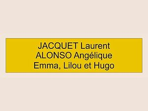 plaque ou etiquette de boite aux lettres 3 lignes bronze 100x25mm ebay. Black Bedroom Furniture Sets. Home Design Ideas