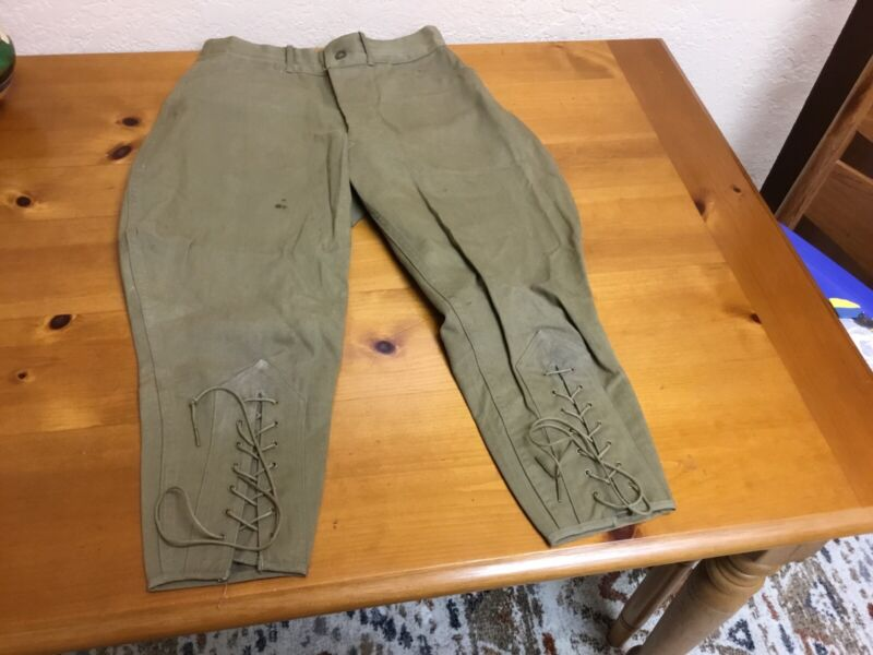 Vintage Boy Scout Trousers Breeches