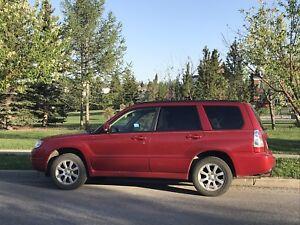 Subaru Forester, 2007, manual