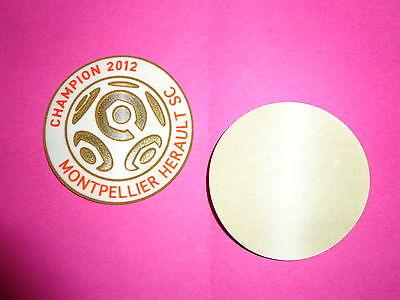 Patch MONTPELLIER LFP officiel LEXTRA Champion 2012