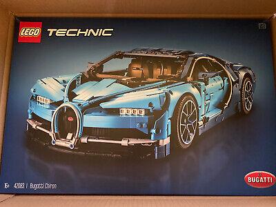 LEGO 42083: TECHNIC BUGATTI CHIRON **FACTORY SEALED BOX**