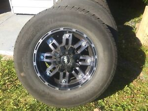 17 inch wheels and tires off 2007 sierra