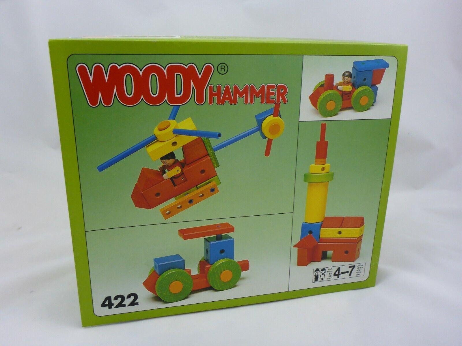 Matador Woody Hammer 422 Holzbaukasten - Retro - ab 4-7 Jahre