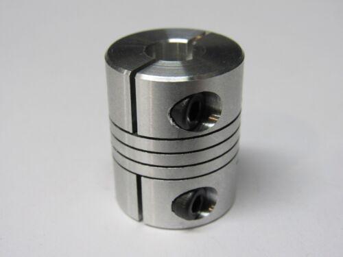 6.35mm x 8mm Flexible Coupler - 3D Printer, CNC, Stepper Motor Shaft Coupling