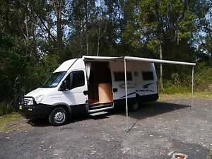 2007 Iveco Daily - Getaway Avoca Motorhome - Automatic, Diesel West Gosford Gosford Area Preview