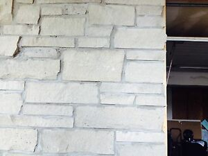 Wall  stone 1000 sq ft $500
