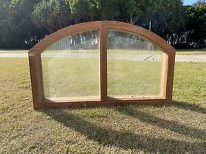 Reduced. Super reduced... arched hardwood glass windows