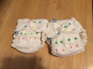 Bumboo Snap- Silk Fitted 2 size diaper  Edmonton Edmonton Area image 1