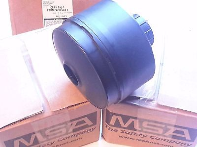 Msa Cbrn Approved Gas Mask Filters -vac Sealed New 10046570 Exp 92013 3-pak