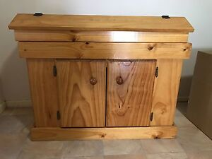 3ft fish tank solid pine cabinet with hood Ferny Grove Brisbane North West Preview
