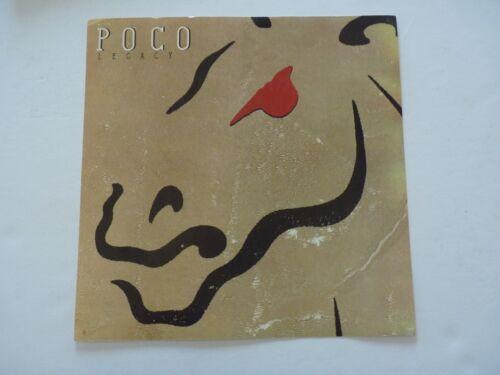 Poco Legacy 1989 Promo LP Record Photo Flat 12x12 Poster
