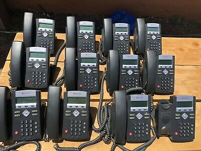 Polycom Soundpoint Ip 331 Phone Lot 12 Phones One Wo Handset