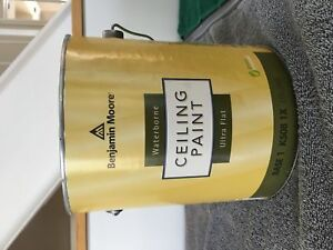 Benjamin Moore Ceiling Paint - 3 Gallons  - PL2302 by 1/2
