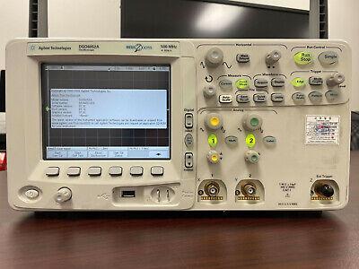 Agilent Dso6052a Color Digital Oscilloscope 500mhz 4gss