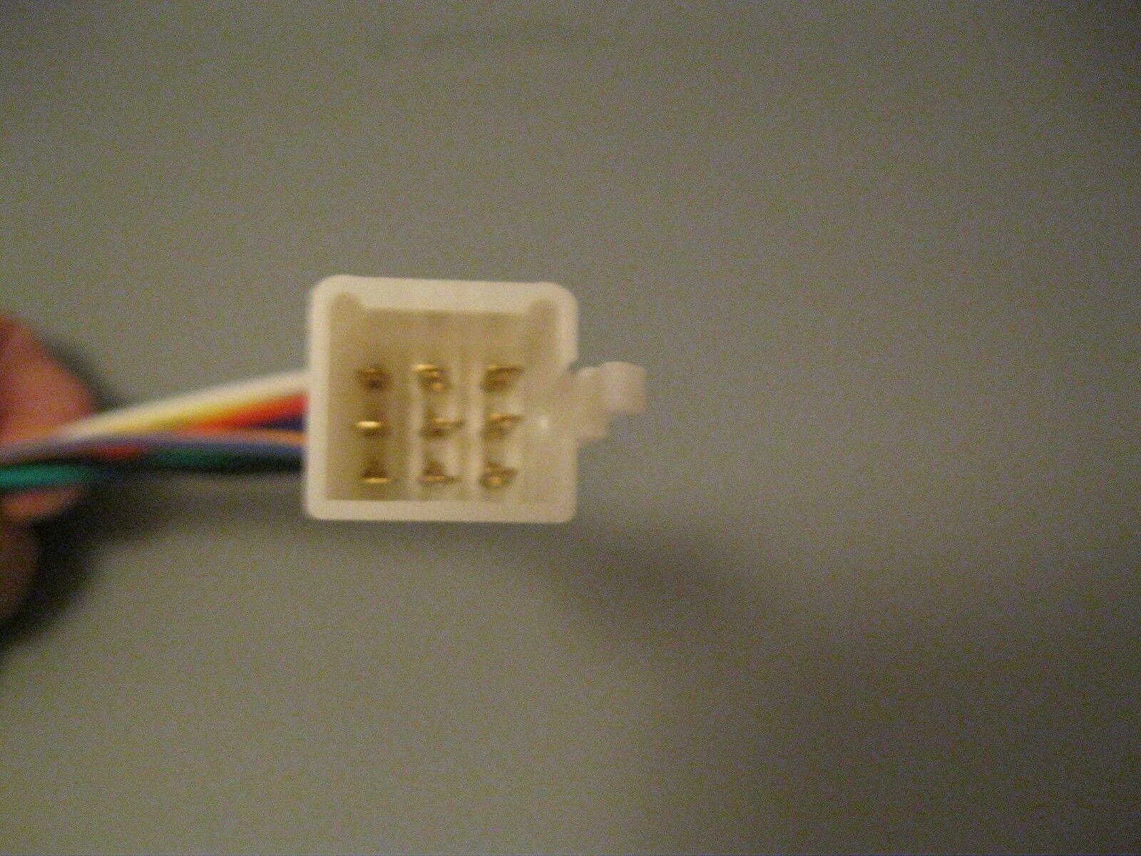 Kubota 9 Pin Radio Wire Harness Tractor RTV Plug CD Player In Dash Stereo  Item Number: 182992801086