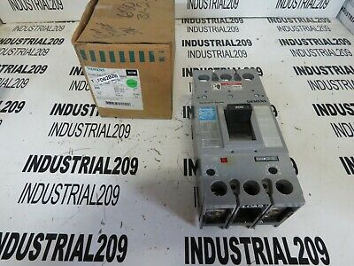 Siemens Sentron Series Breaker Fd62f250 200 Amp New In Box