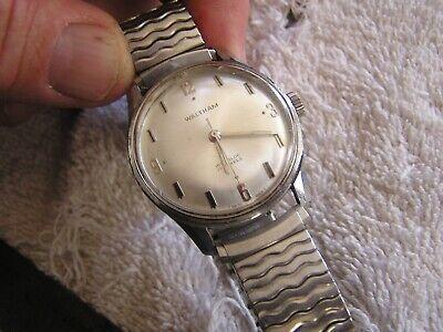 Vintage Waltham Incabloc 17 Jewels Watch