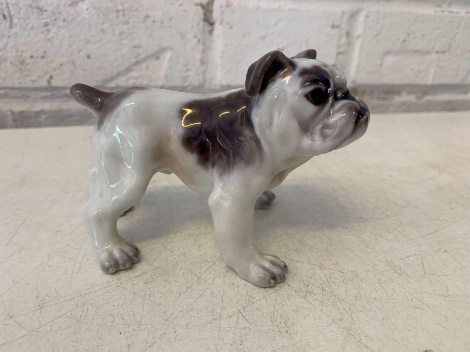 Vintage dahl jensen porcelaine bulldog anglais figurine 1135