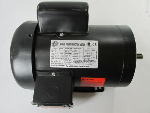 WorldWide Electric NT1-18-56CB 60 Hz 1HP 1725 RPM 115/230V Frame: 56HC Phase: 1