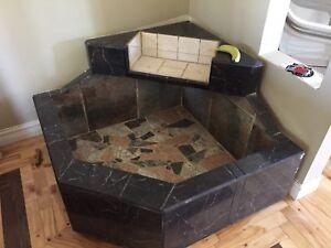 Indoor fountain/planter/aquarium type thing...