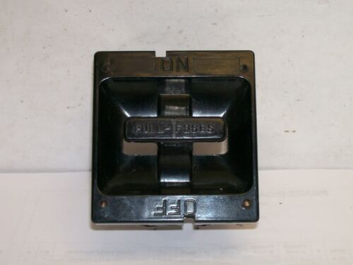 60 Amp Fuse Panel Pullout for SQD Square D  - USED  *FREE SHIPPING*