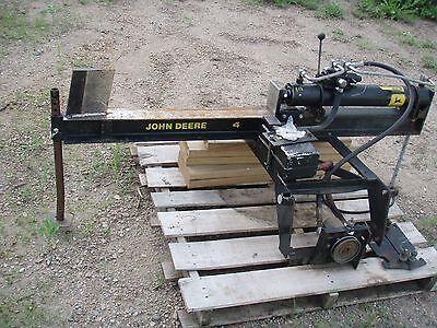 John Deere Model 4 Wood Splitter 317 140 318 214 216 Garden Tractor Monted In Mn