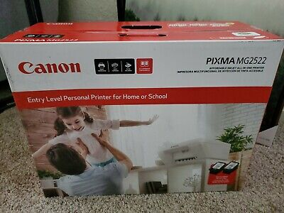 NEW Canon Pixma MG2522 Inkjet Printer Scanner Copier (with Ink) Ships Free!