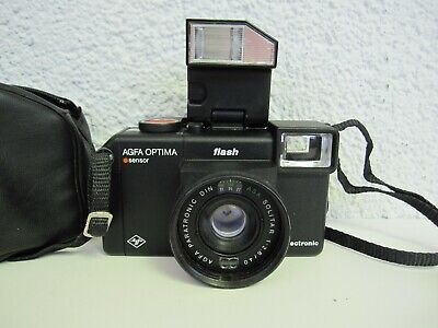 AGFA OPTIMA SENSOR FLASH electronic mit Tasche
