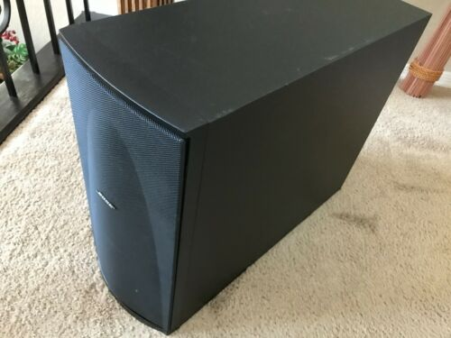 "Bose Subwoofer Built In 2 6"" Bass Drives"