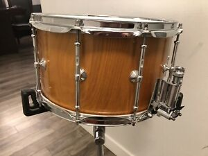 Snare drum Caisse claire oak chêne LuKa 14x7 MINT one solid ply