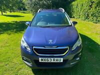 Peugeot 2008 Crossover 1.4HDi Diesel 70bhp Active Blue Estate 2013