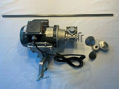 Mixer Agitator 12 Hp Single Phase Heavy Duty Gear Drive Clamp Mount Mixer